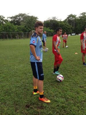 Vianney Blanco llegó al Herediano previendo la salida de algún jugador al exterior. Foto CSH