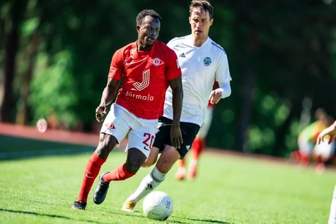 An In-depth Look At How Ogunniyi Omojesu Is Fairing At Spartaks Jurmala