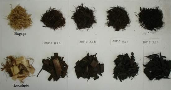Tratamento térmico aumenta concentração energética de resíduos