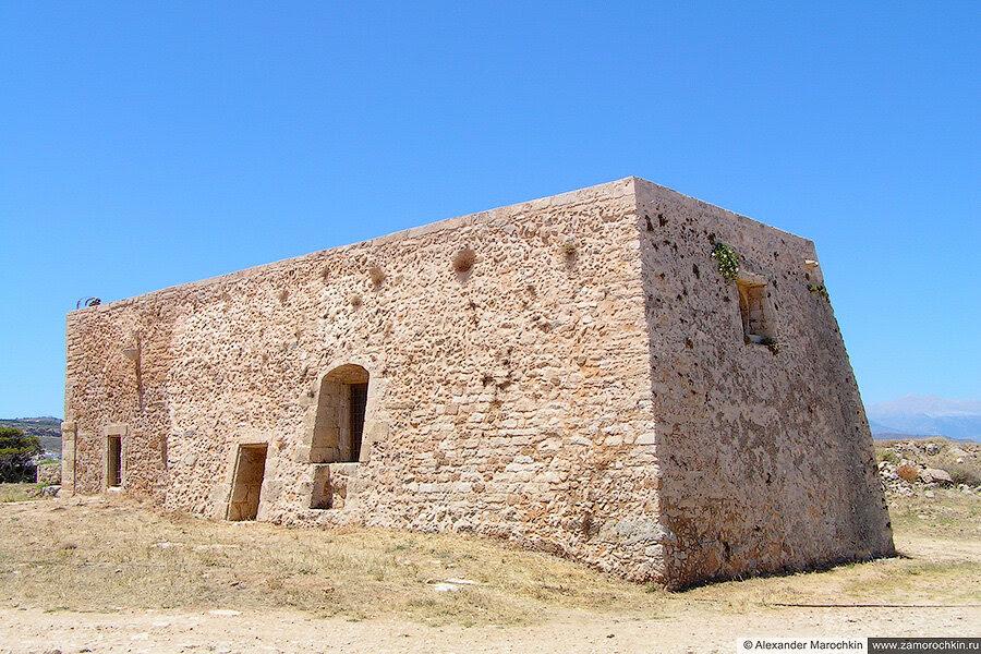 Здание в крепости в Ретимно