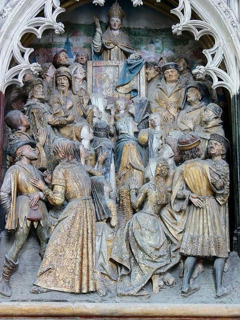 Saint Firmin Preaching