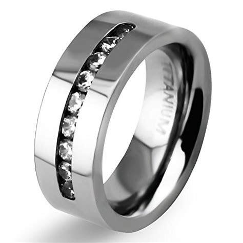 mm mens womens titanium classic wedding bands