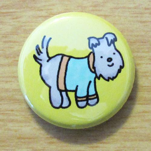 Sweater Doggie Schnauzer - Button 01.08.11