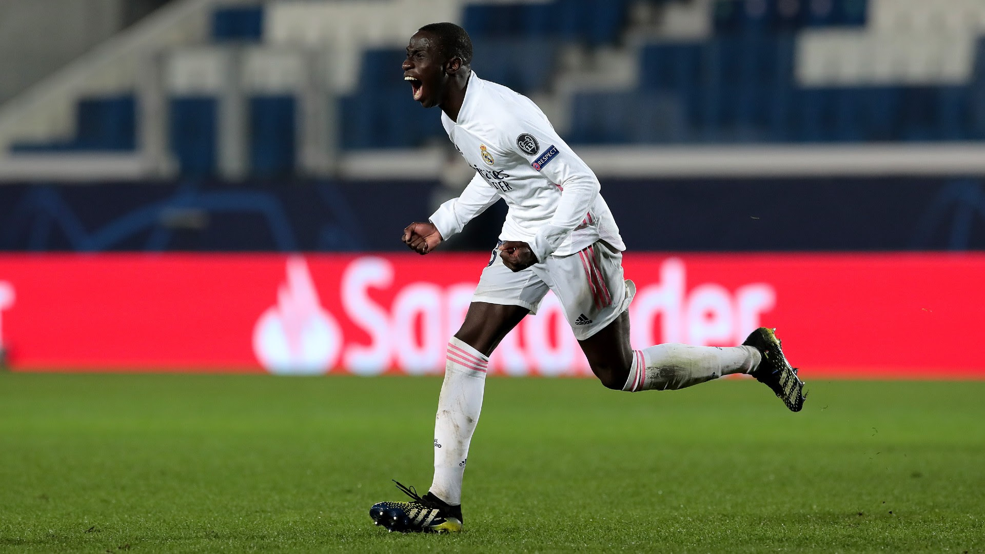 Mendy overwhelmed by first European goal for Real Madrid: 'I didn't even know how to celebrate'
