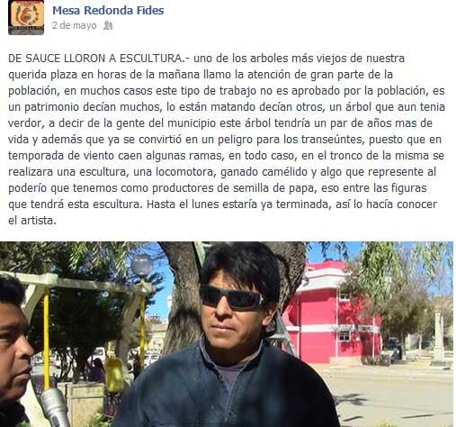 Mesa Redonda Fides Villazón