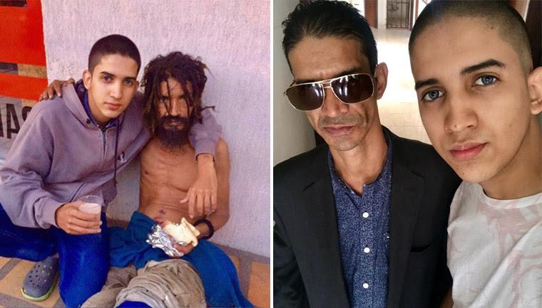 ele ajudou pai livrar vício drogas emocionou