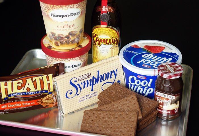 Kahlua-Coffee Ice Cream Dream Cake | bakeat350.net