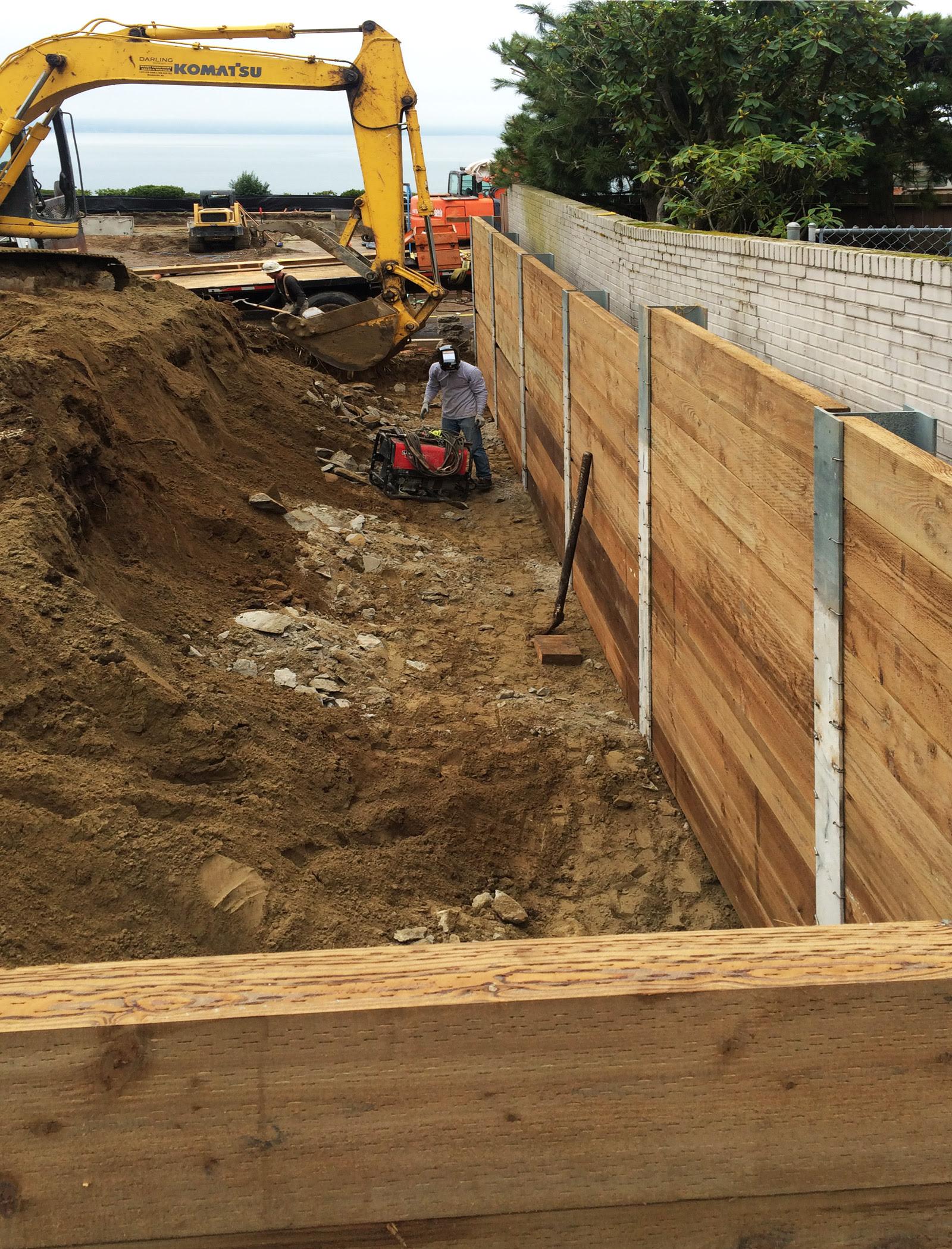 BUILD LLC Shoring 03 process