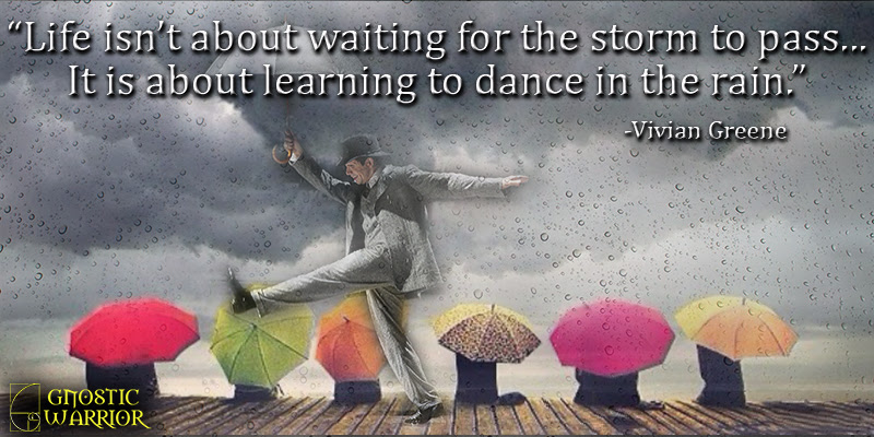 Life Isnt About Waiting For The Storm To Pass It Is About Learning
