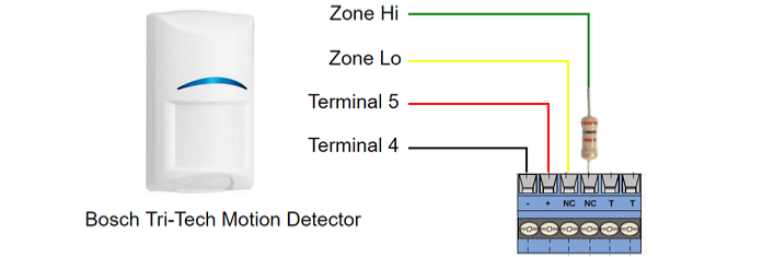 Motion Detector Wiring Diagram Series