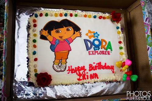 Birthday Irina 3yo 2012