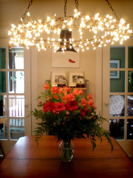 20 DIY Chandeliers Using Vintage Things