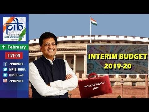 Interim Budget 2019 Highlights