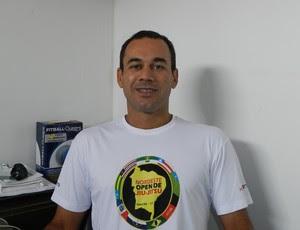 Nivaldo Pereira, organizador do Nordeste Open de jiu-jitsu (Foto: Divulgação)