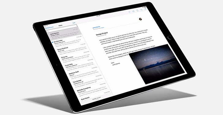 "Apple iPad Pro with 12.9"" Retina display is now official"