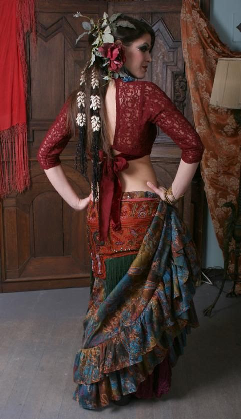 Gypsy Moon.  Inspiration photo, that top would be so comfortable for summer festivals, and back would work really well for fairy wings.