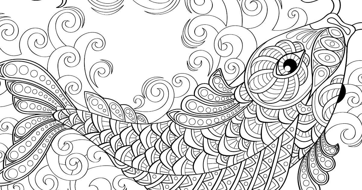 malvorlagen mandala fische  ausmalbilder einhorn