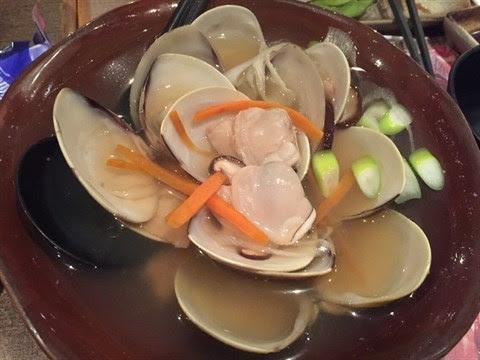 清酒煮日本大蜆 - 旺角的鳴門魚市場居酒屋