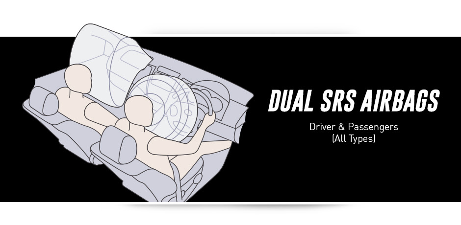 Dual srs air bag New Toyota Rush