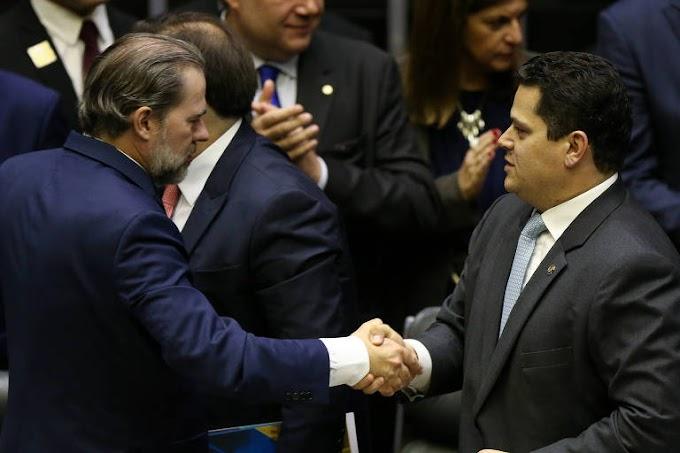 Senado e Toffoli presidente do STF, homenageia a Globo