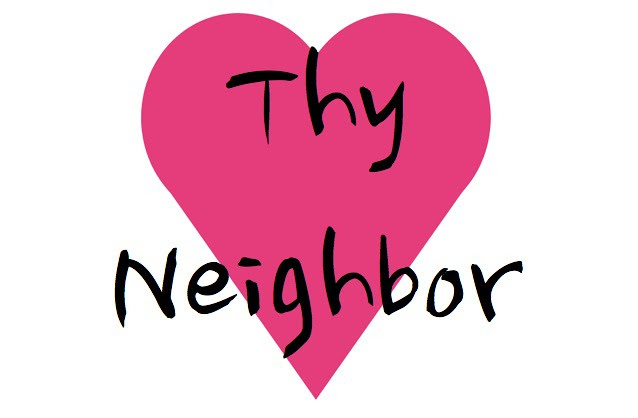 Love thy Neighbor Heart