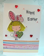 CAS Easter card~ inspired by Joy T