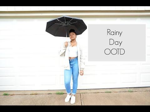 Rainy Day OOTD