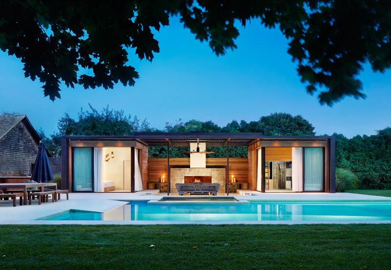 modern pool house 2