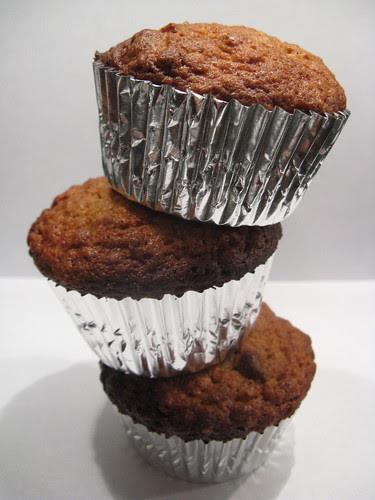 Sweet Potato, Oatmeal & Chocolate Muffins