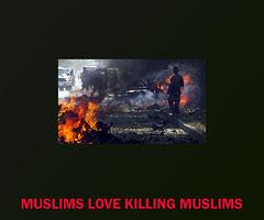 MUSLIMS LOVE KILLING MUSLIMS by firoze shakir photographerno1