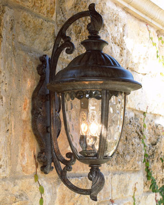 "Park Lane"" Lantern - traditional - outdoor lighting - by Neiman Marcus"