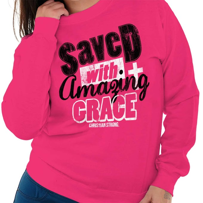 Amazing Grace Ladies Sweatshirt