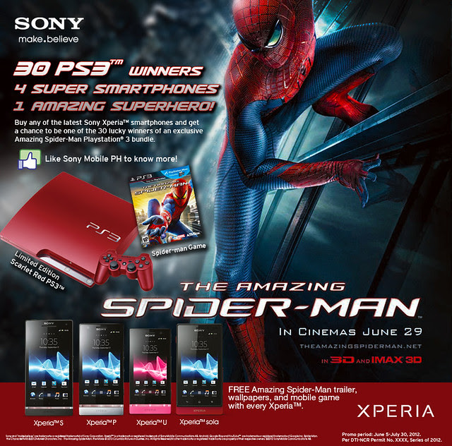 Spider-Man Promo Xperia