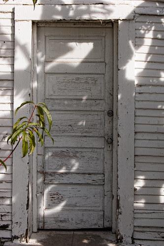 Rives mansion door
