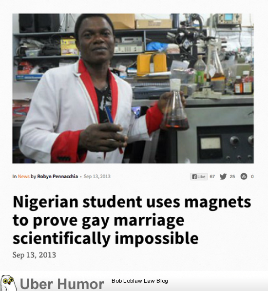 Scientific Proof Gay Marriage Is Impossible Funny Pictures