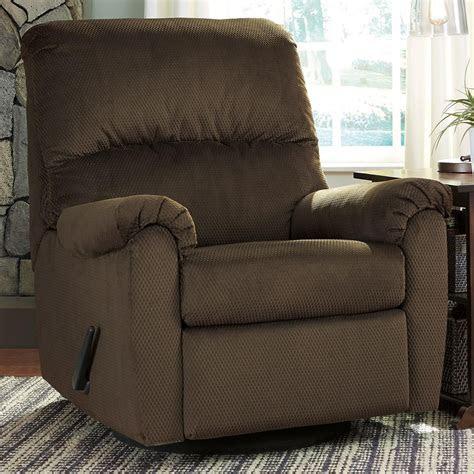 signature design  ashley bronwyn swivel glider recliner