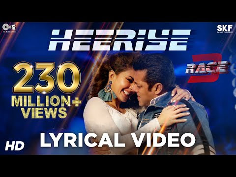 Heeriye Race 3 Mp3 Song Lyrics Download