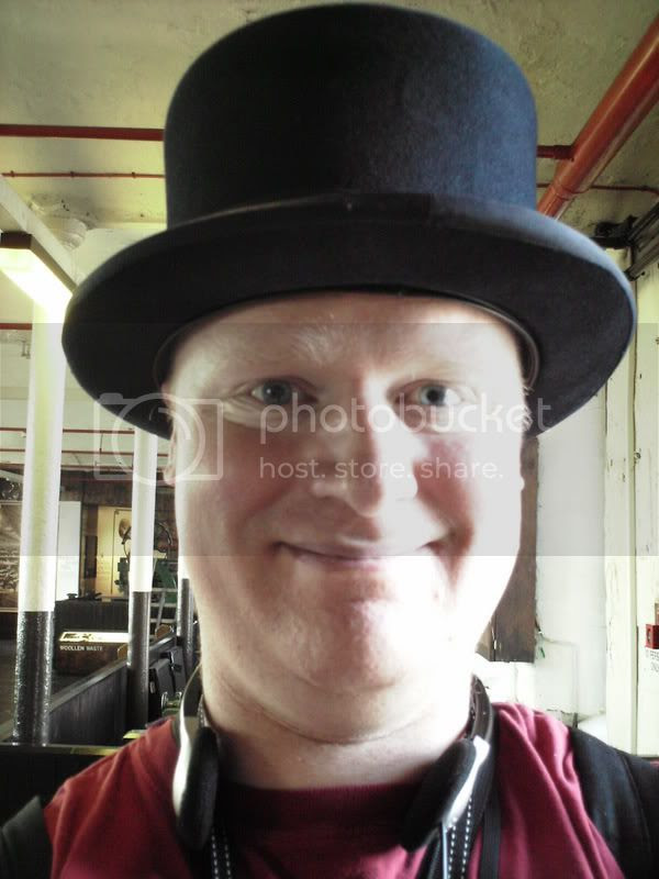 I wear a top hat all the time