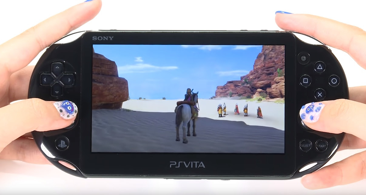 See how PS4 to Vita remote play fares for Dragon Quest XI screenshot