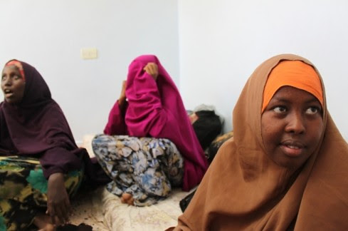 African women held prisoner by US-trained counter-revolutionary rebels now roaming Libya. The NATO-led rebels are being financed by imperialism and its agents. by Pan-African News Wire File Photos