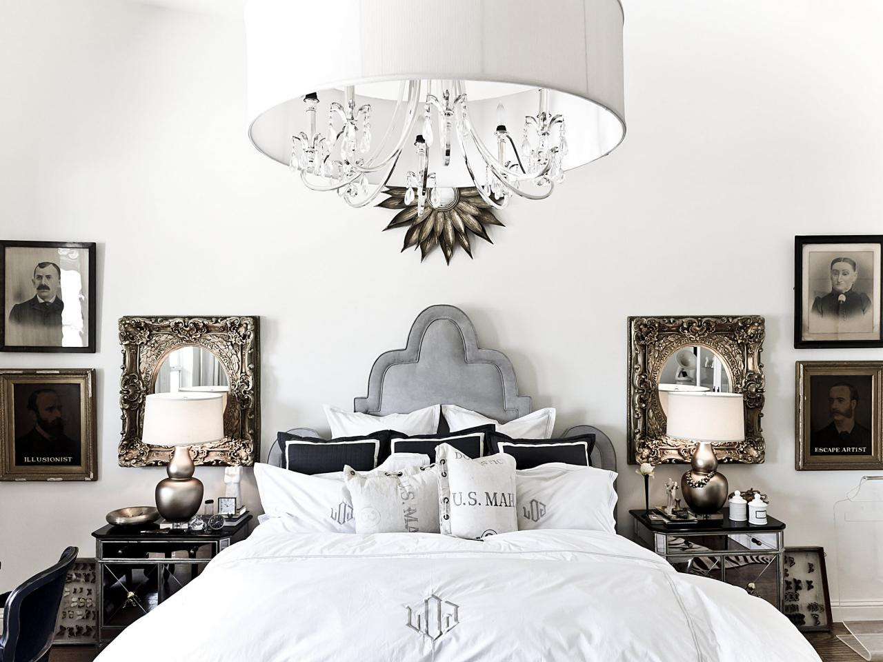 Bedroom Chandelier Lighting | HGTV