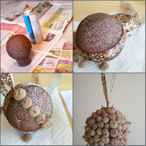 Acorn Home Decor Crafts Using Up Our Fallen Acorns