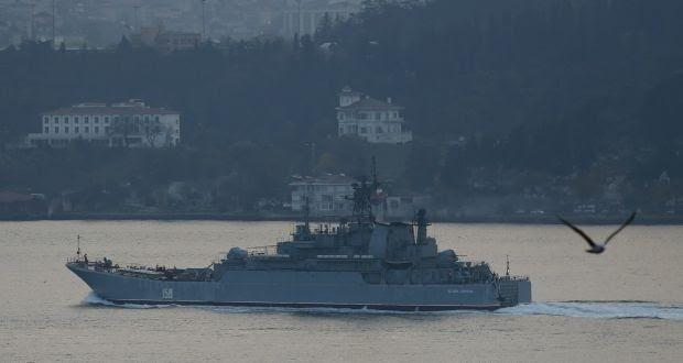 У российских кораблей начались проблемы с прохождением Босфора