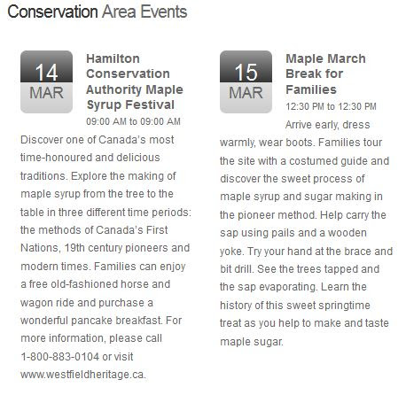 ontario trails at conservation ontario