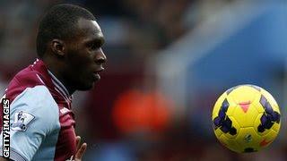 Aston Villa's Christian Benteke