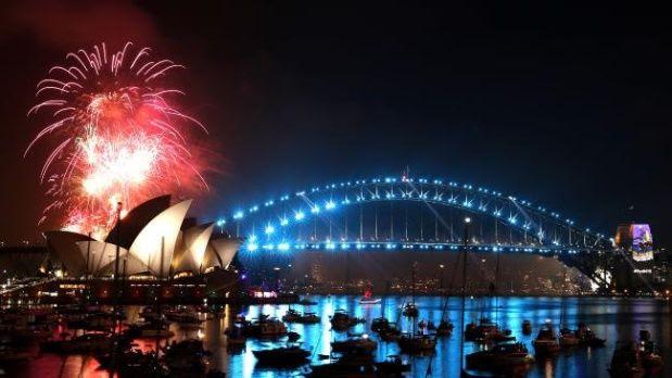 Ya llegó el nuevo año a Nueva Zelanda, Fiyi, islas del Pacífico Sur y Australia