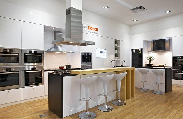 "The new Bosch Euro Kitchen is their largest ""live"" kitchen in Singapore"