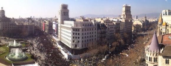 En Barcelona. Foto: @Joan_Linares/ Twitter