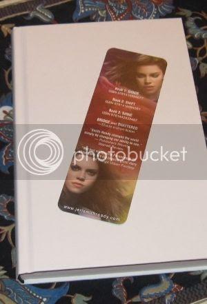 autographed Jeri Smith-Ready bookmark