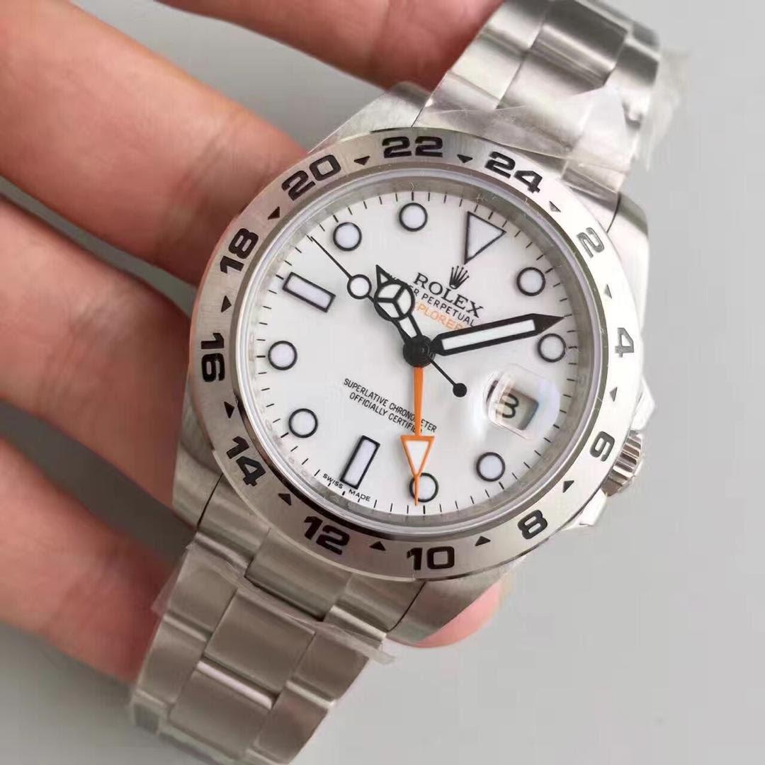 Rolex Explorer II 216570 Orange Hand